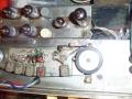 Meazzi Echoamateur PA 296, koppenplaat met dikke wis- opname- en 4 weergavekoppen.