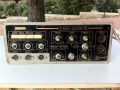 Meazzi PA304 Stereo Echomatic Mixer, front. Photo with the courtesy of Giorgio Calvano, Italy.