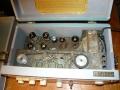 Meazzi PA306, originele bandloop met 6 dikke weergavekoppen. 6e kop staat bovenin.
