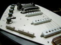 V209 Phantom VI Special 3 pickups 1964, model EKO Italy, body.