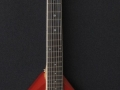V221 Phantom XII 3 pickups  Red 1965, model EKO Italy, front met complete tremolo.