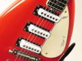 V222 Mark VI 1965, 3 pickups, Red EKO model Italy, open bridge,