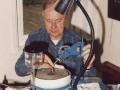 Derek Underdown, voormalig Chief-Engineer JMI, hier met pensioen.
