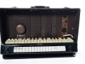 Jennings Univox Organ J6, 1958 uitvoering, black plastic handle.