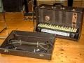 Jennings Univox Organ J6, toetsenbord open.