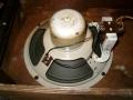 Jennings Univox Organ J7, 8 inch Plessey speaker, waarop trafo gemonteerd.