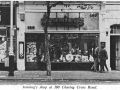 Jenning's shop at 100 Charing Cross Road.