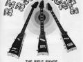 Jennings 1971 Big Shot advert The Rifle Range guitars, vanaf links N.3 Gunman Bass. N.1 Winchester en N.2 Outlaw.