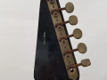 Jennings Rifle guitar N.2 The Outlaw Metallic Blue made in Italy 1971, headstock back.