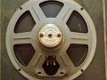 Goodmans 768 10 inch 6 spoke 15 ohm, alnico, cone 1038, toegepast in Vox AC10 en Jennings Line Source LS 410 speakerboxen.
