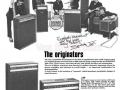 Jennings 1972 advertentie versterkers.