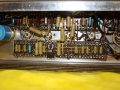 Jennings AC40 stack, circuit met Mullard-Philips Yellow Mustard caps.