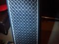 Jennings LS410 Column 50 watt met 4x10 inch Goodmans speakers, front. Er is ook 100 watt LS412 uitvoering met 4x12 inch speakers.