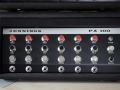 Jennings PA100 Solid State 100 watt, front. Gebruikt door Cliff Richard. Is er ook als PA50 in 50 watt versie.