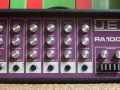 Jennings PA100 Solid State Purple 100 watt front. Is er ook als PA50 in 50 watt versie.