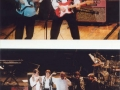 Marvin & Bennett UK Tour 1994. Hank en Ben Marvin, Brian en Warren Bennett, Marc Griffiths.