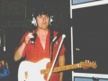 Bruce met zijn authentieke 1959 Strat no 34346 nog in wit gespoten tijdens Abbey Road opnamen.