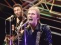 George (Sweetman) Ford (1941-RIP 2007), dynamische co-bassist bij The Shadows met Alan Jones in het tijdvak 1978-1981. Daarvoor speelde George met Steve Harley in Cockney Rebel van 1975-1977, op deze foto samen te zien.