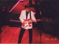 Hank Marvin tijdens M&B UK tour 1994.