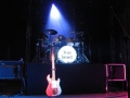 Stage Shadows Tour 2005 met Vox AC30, Burns London The Shadows Custom (Signature) Guitar, Pinnacle cabinet zonder top.