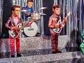 Shadows als marionetpoppen compleet met mini Voxen en mini Burns gitaren in de TV serie en film Thunderbirds are Go rond 1966. Hieruit kwamen opnamen voort als Shooting Star, Lade Penelope, Thunderbirds Theme, Zero X Theme.