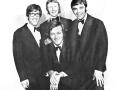De samenstelling van The Shadows van de 1969 Tour met John Rostill op bas en Alan Hawkshaw op keyboard (periode zonder Bruce Welch).