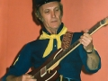 Jet in de Ranger outfit waarmee hij in Tilburg optrad in 1988/1989.