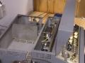 1 Meazzi Factotum All Transistor Type 440, behuizing  deel power amp afgezaagd.
