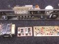 4  Meazzi Factotum All Transistor. Koppenplaat met nieuwe DC motor en moderne power supply.