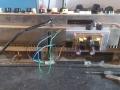 5 Meazzi Factotum All Transistor. montage nieuwe PCB, met speedcontrol.