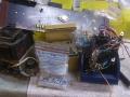 9 Meazzi Factotum All Transistor Type 440, wat over is van de poweramp na refurbish.