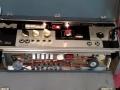Meazzi All Transistor 880, Electronische Red SOS switch naast reverb control knop. Een uit de laatste serie.