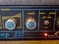 M3- Meazzi Blues Amp 333 Solid State, reverb en Valve Sound controls.