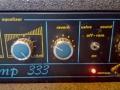 M3- Meazzi Blues Amp 333 Solid State, reverb en Valve Sound controls.