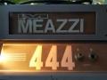 Meazzi 444 Solid State gitaarversterker eind 60s, embleem.