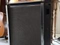 Meazzi 444 Solid State gitaarversterker eind 60s. Top met speakerkast.