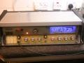 Meazzi 666 Solid State amp 60 watt met ingebouwde echo, deksel gesloten.