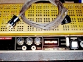 Meazzi Kapitan 40 top. Controls Volume, Treble, bass, Booster- Presence switch.