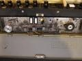 Meazzi Olimpia 555, zicht op echo. Wiskop, opnamekop, 2 weergavekoppen, reverb control.