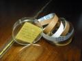 Meazzi originele tape no. 3 met opdruk voor bandecho van Olimpia 555.