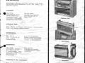 Finse distributie folder Meazzi versterkers en echo's.