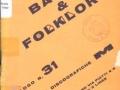 Folder muzieklabel EDM uitgever 1962.