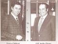 Bassist Franco Caldironi en zijn mede uitvinder Attilio Olivieri, die als subcontractors de M3 emThree toestellen in de zeventiger jaren produceerden, alsmede betrokken waren bij de Meazzi Hollywood serie voor gitaren en drumkits. Hun bedrijf ging failliet in 1981.