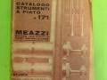 Meazzi catalogus blaasintrumenten no 171 uit 1962.