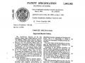 Voorbeeld van een patentaanvrage waarbij naast de ontwerpers de Fratelli Meazzi mede aanvragers zijn.