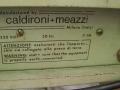 Meazzi emThree Echofinder Computer-echo, fabrikaat Calderoni 1970, back