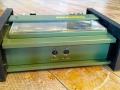 Meazzi emThree Minimax Computer Echo, fabrikaat Calderoni 1970, back.