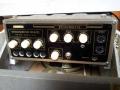 Meazzi Echoamateur PA296 met metalen behuizing in originele speakerbox-opbergkoffer, front.