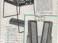 Meazzi Factotum PA304,  2x18 watt stereo echomatic, folder.