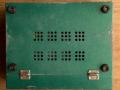 Meazzi PA306 groen met deksel, onderkant.